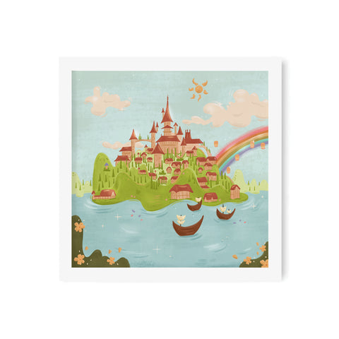 Crown Island Art Print