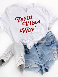 White Team Vista Way Tee