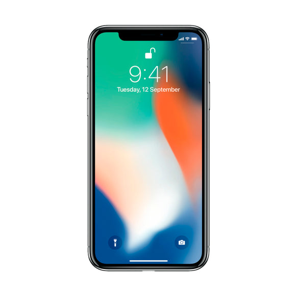 APPLE IPHONE X 64GB PLATA REACONDICIONADO APP-MQAD2LZ/A-64GB-PLATA