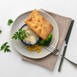 Chicken Cream Casserole with Short Crust Pastry Top 350g