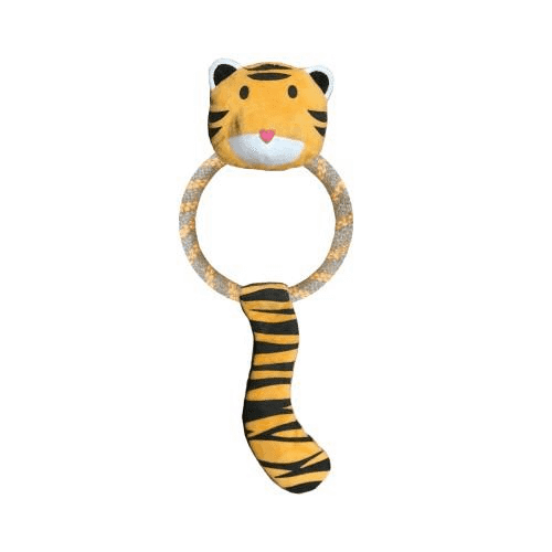 Beco Eco-Friendly Tilly the Tiger Dog Toy - Birdham Animal Feeds