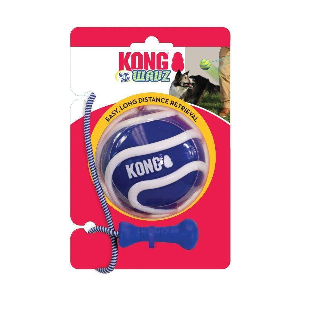 Kong Wavz Bunjiball Dog Toy