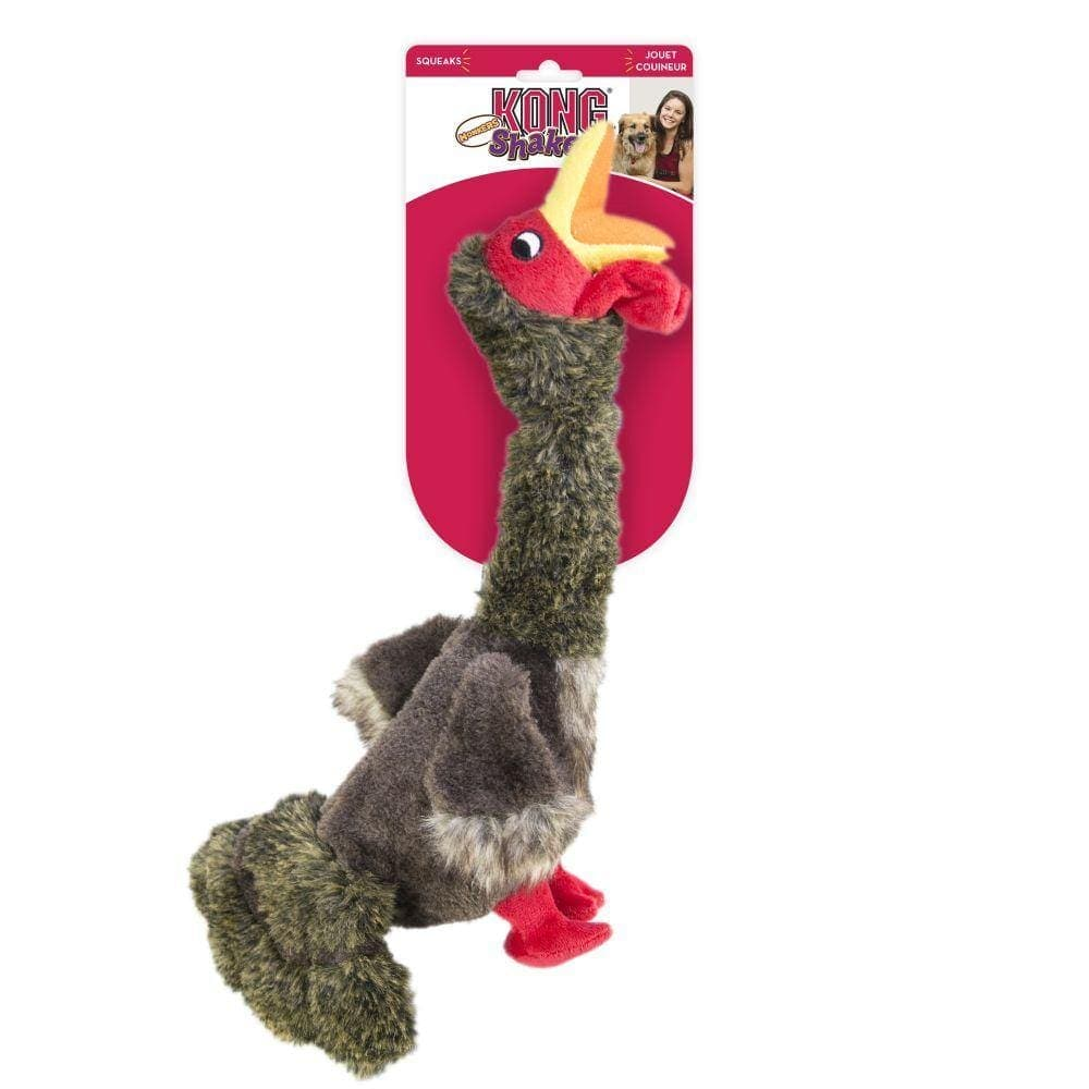 Kong Shakers Honkers Turkey Dog Toy