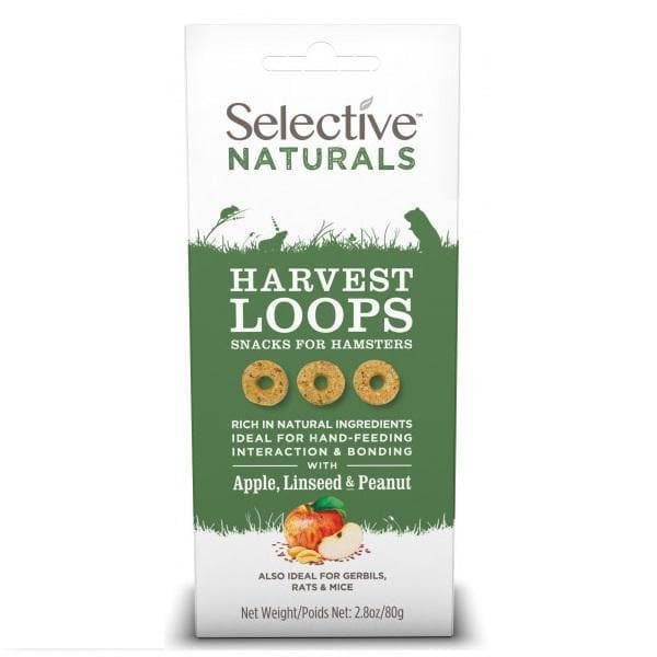 Selective Naturals Harvest Loops 80g - Birdham Animal Feeds
