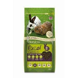 Burgess Excel Rabbit Nuggets with Mint  - Birdham Animal Feeds