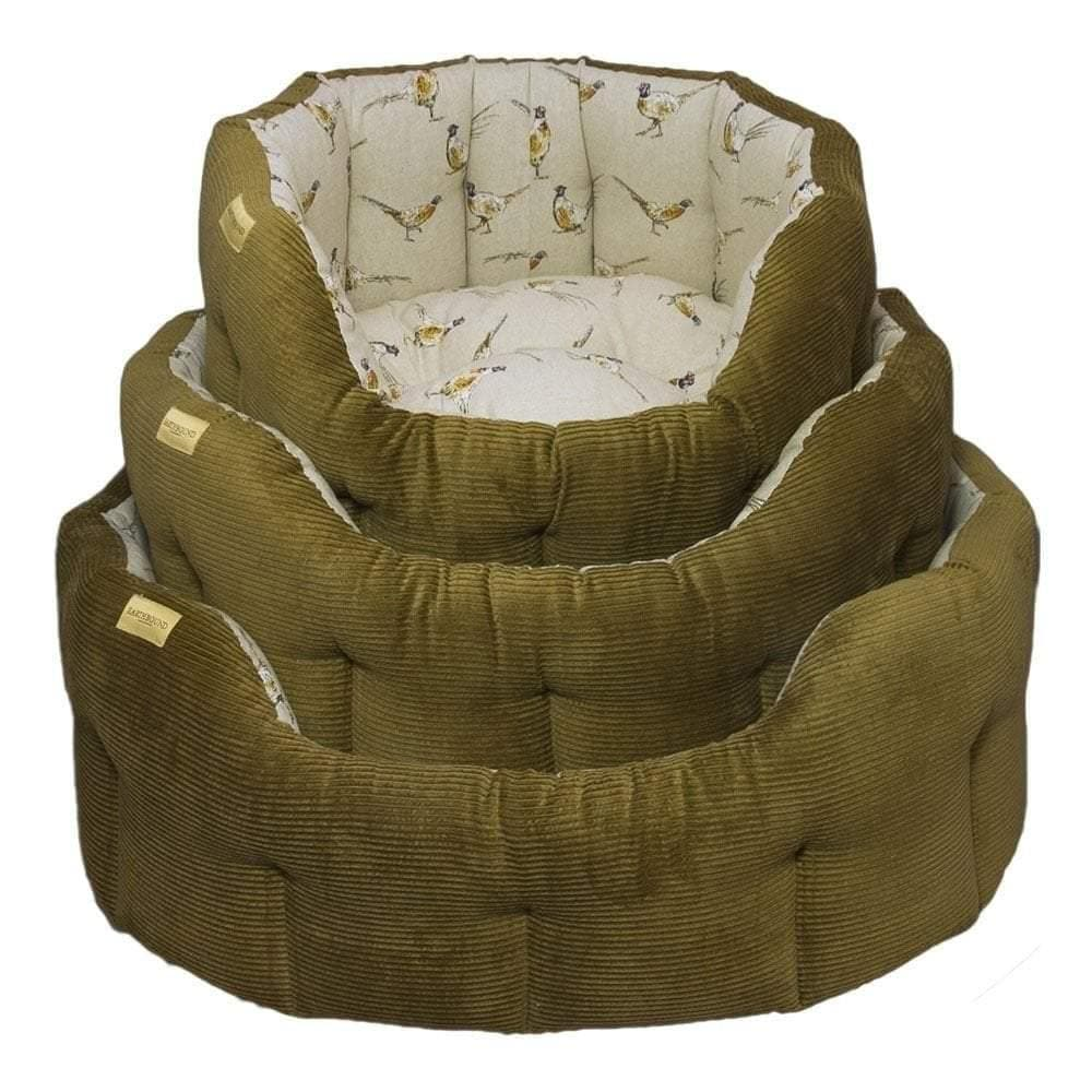 Earthbound Classic Cord Pheasant Dog Bed