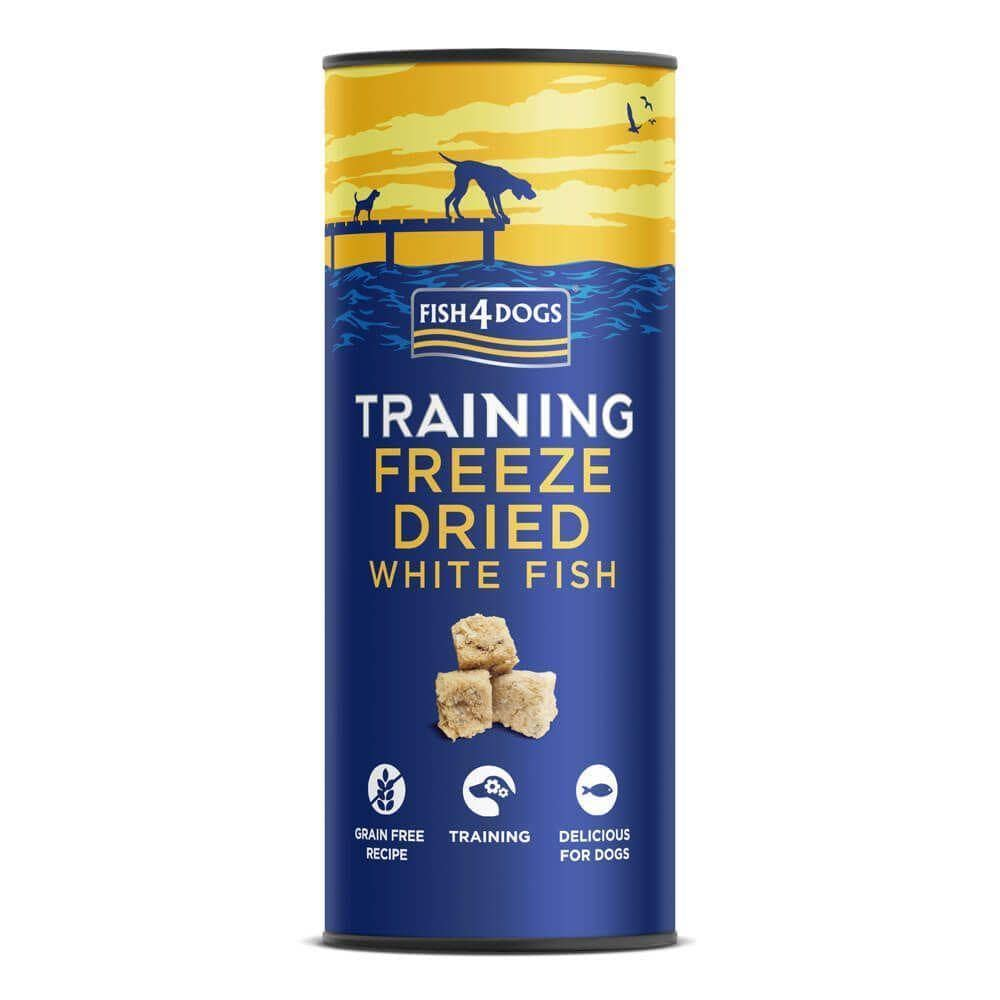 Fish4Dogs Training Treats Freeze-Dried White Fish 25g