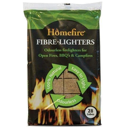 Homefire Fibre Lighters 100% Natural Firelighters  - Birdham Animal Feeds