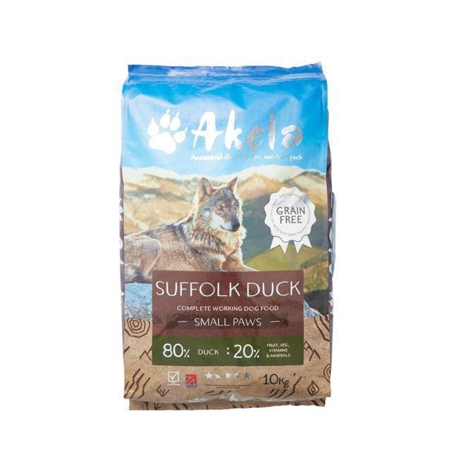 Akela Suffolk Duck Working Dog Food