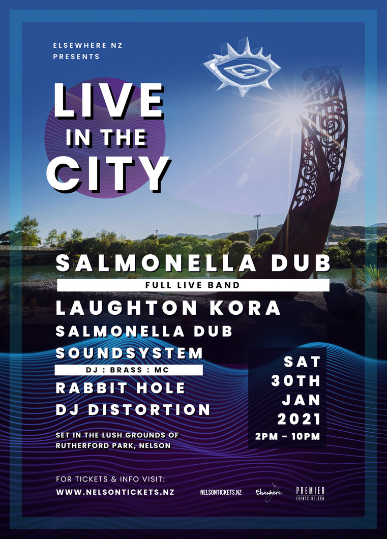 Live In The City - Salmonella Dub 30/1/21