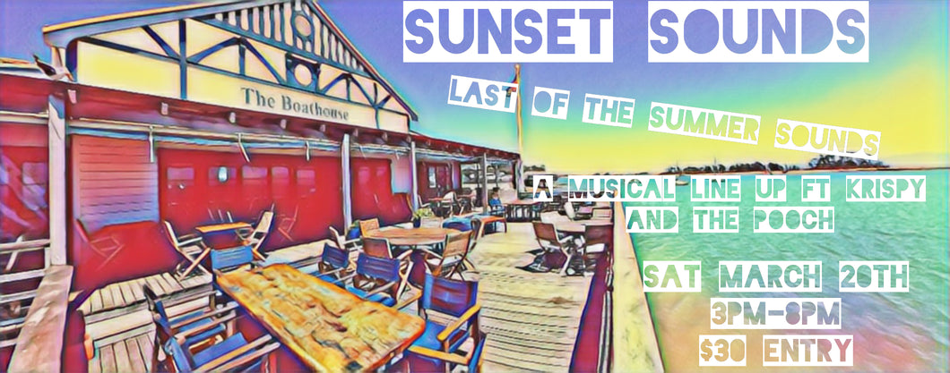 SUNSET SOUNDS AT THE BOATHOUSE