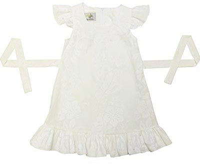 Girls Ruffle Hawaii Wedding Dress