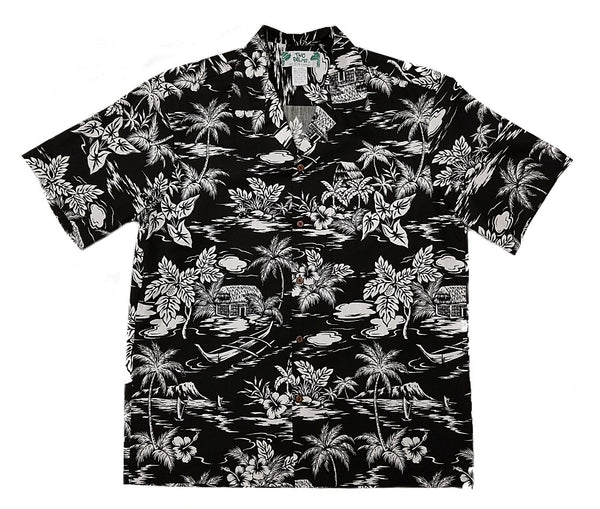 08aae5e8 Love Shack Black – Two Palms Hawaiian Wear Made in Hawaii, USA