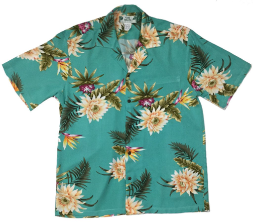 Hawaiian Shirt Ceres Green
