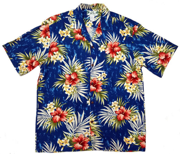 Hawaiian Shirt Weilana Navy