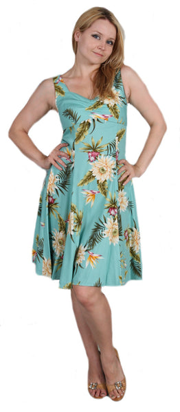 Two Palms H-Strap Dress Ceres Green