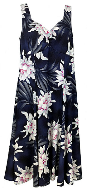 Two Palms H-Strap Dress Night Blooming Black