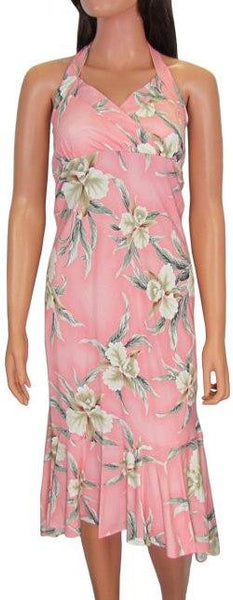 Hawaiian Dress Retro Orchid Pink 904-R