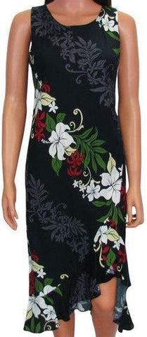 Hawaiian Wedding Dress Rene Panel Black