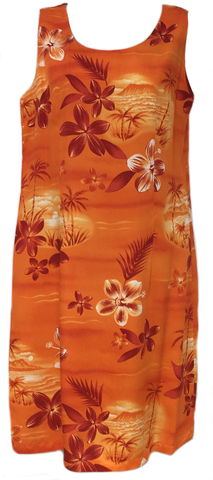 Tank Dress Moonlight Scenic Orange