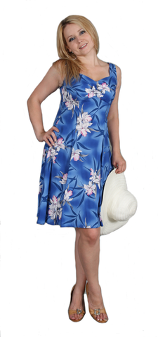 Two Palms H-Strap Dress Midnight Orchid Blue