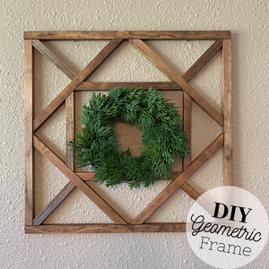 DIY Geometric Frame