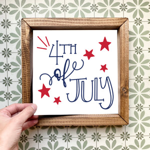4th of July magnetic design (design only, frame not included)