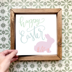 Happy Easter magnetic design (design only, frame not included)