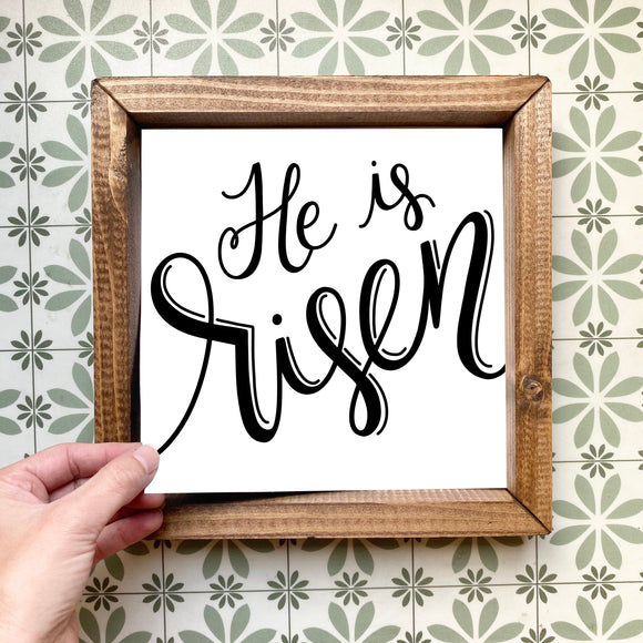 He is risen magnetic design (design only, frame not included)