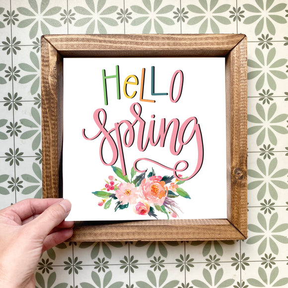 Hello Spring magnetic design (design only, frame not included)