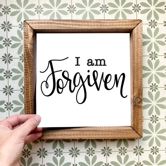 I am forgiven magnetic design (design only, frame not included)