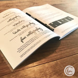 Handlettering Workbook: a Guide to Calligraphy and Design