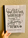 DAMAGED Handlettering Workbook: a Guide to Calligraphy and Design