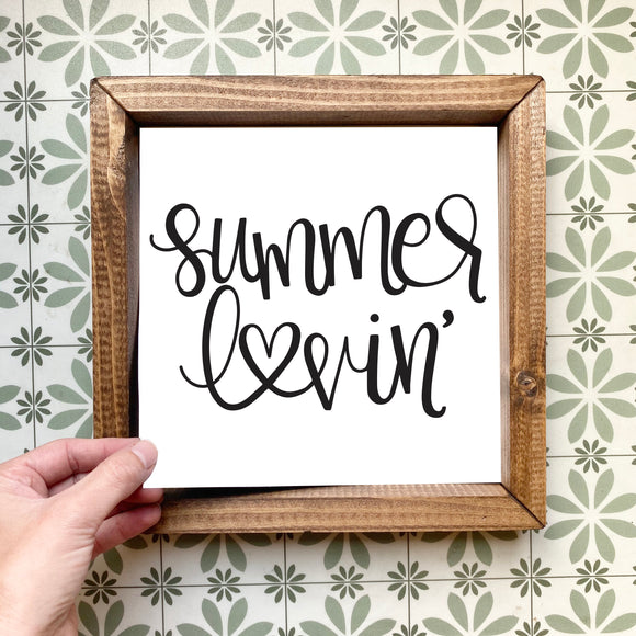 Summer lovin' magnetic design (design only, frame not included)