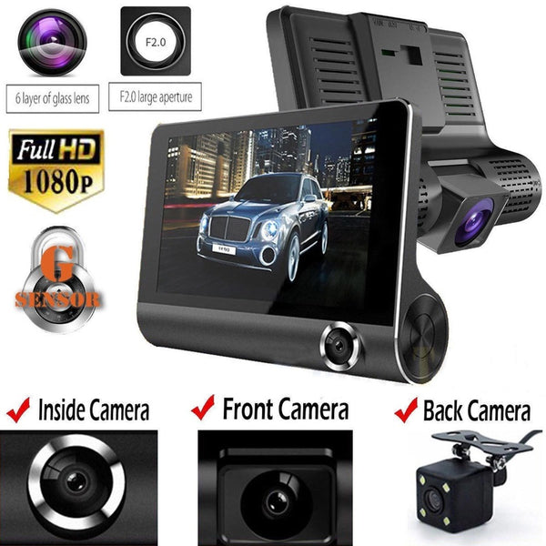 4.0 inch Full HD Car DVR Dash Camera