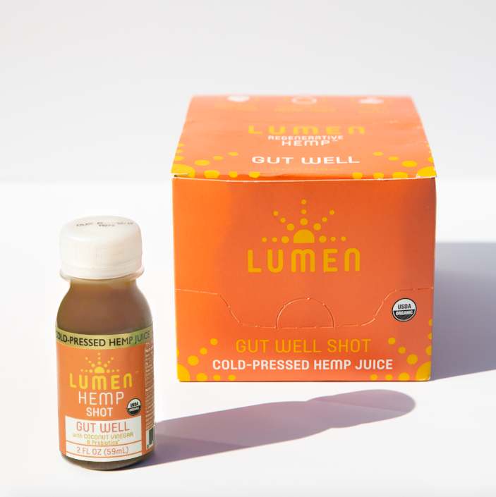 Lumen Gut Well CBD Shot (12-Pack)