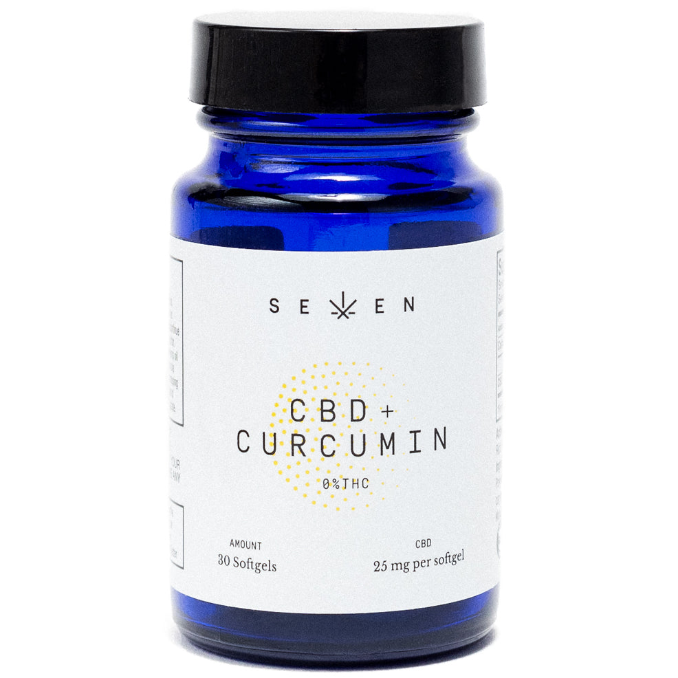 CBD Softgels (with curcumin)