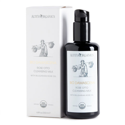 ALTEYA Bio Damascena Organic Rose Otto Cleansing Milk 有機奧圖玫瑰洗面奶 [200ml] - MINT Organics