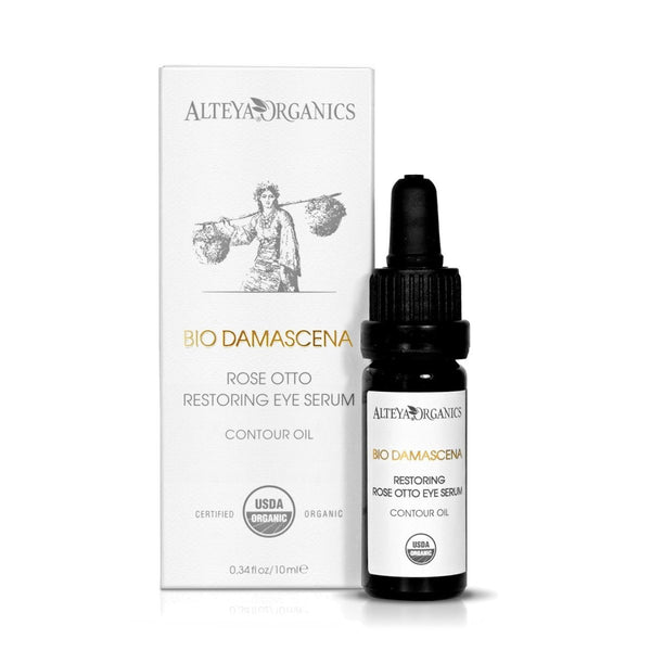 ALTEYA Bio Damascena Organic Rose Restoring Eye Serum 有機玫瑰滋養眼部精華 [10ml] - MINT Organics