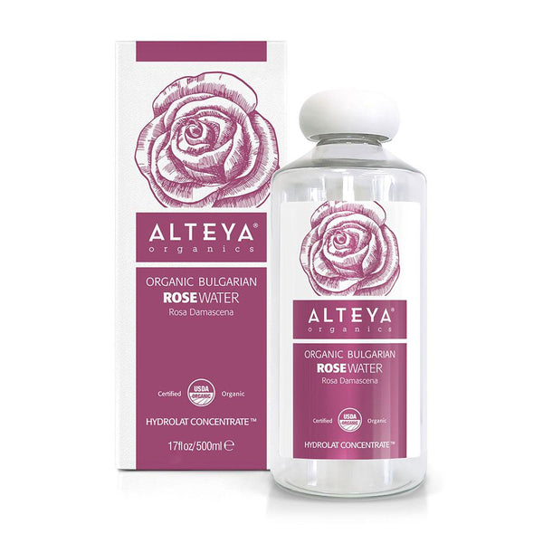 ALTEYA Organic Bulgarian Rose Water 有機玫瑰花水 [500ml] - MINT Organics