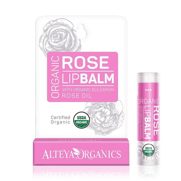 ALTEYA Rose Replenishing Lip Balm 保加利亞有機玫瑰潤唇膏 [5g] - MINT Organics
