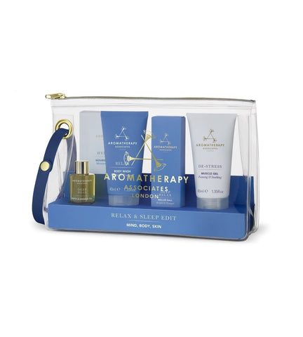 AROMATHERAPY ASSOCIATES Relax & Sleep Edit - MINT Organics