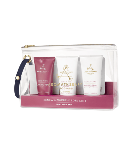 AROMATHERAPY ASSOCIATES Renew & Nourish Rose Edit - MINT Organics