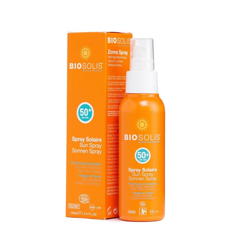 BIOSOLIS Sun Spray 有機高效防曬噴霧 SPF50+ [100ml] - MINT Organics