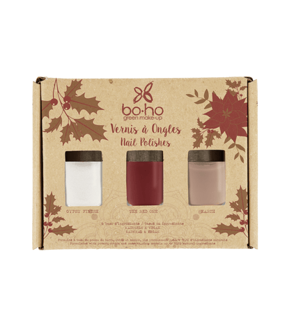 BOHO 3 Nail Polishes Gift Set 天然美甲套裝 [3 x 5ml] - MINT Organics