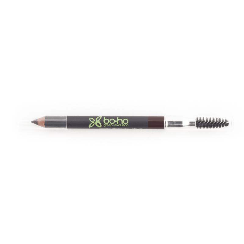 BOHO Organic Eyebrow Pencil 有機自然眉筆連刷 [1.04 G] - 01 BRUN - MINT Organics
