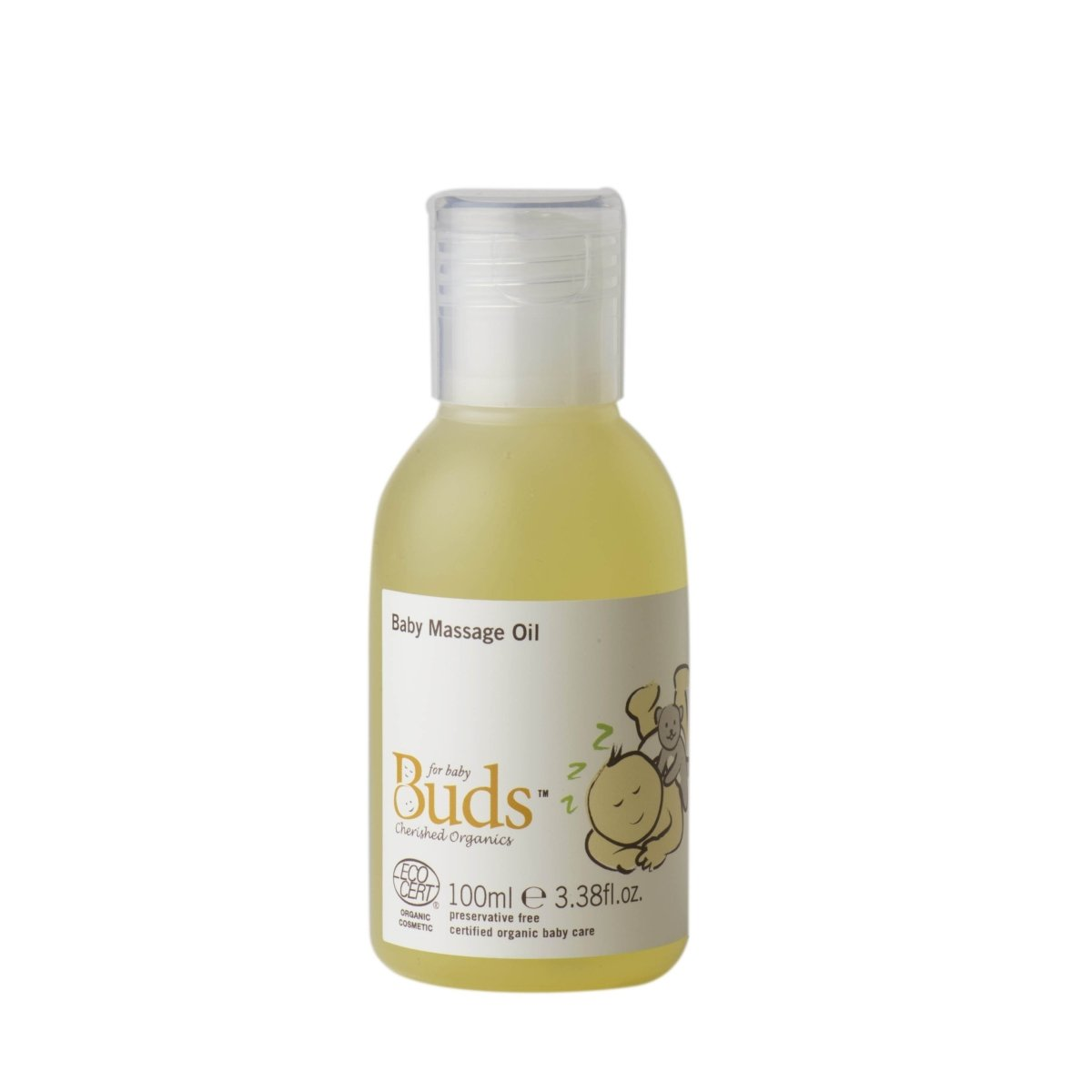 BUDS Baby Massage Oil 有機滋養植物按摩油 [100ml] - MINT Organics