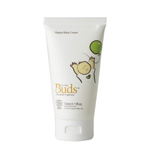 BUDS Happy Baby Cream 幼兒有機滋養潤膚霜 [150ml] - MINT Organics
