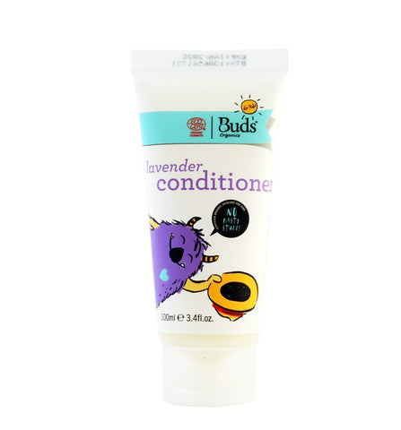 BUDS Lavender Conditioner 兒童有機薰衣草護髮素 [100ml] - MINT Organics