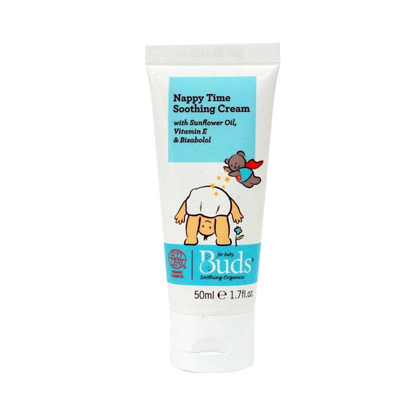 BUDS Nappy Time Soothing Cream 有機尿布疹舒緩膏 [50ml] - MINT Organics